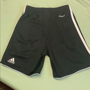 Adidas climacool kids shorts US size S and slides